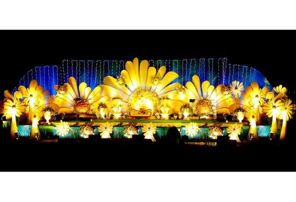 Reception, sangeet, wedding flower decorations and event organizers in hyderabad