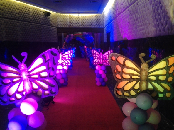 Butterfly theme pathway