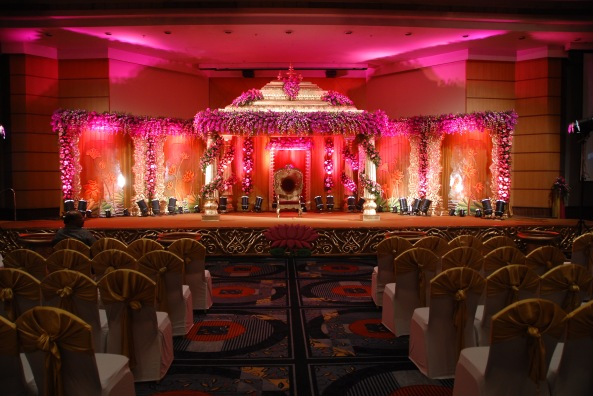 flower decorators, wedding and marriage mandap decorators and reception sangeet stage decorators in hyderabad