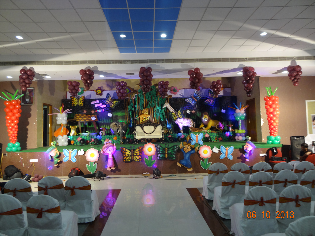 3d Birthday Decorations Shobha 39 S Entertainments