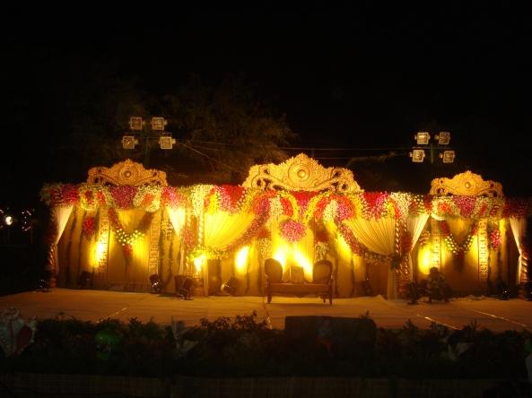 flower decorators and mandap decorators, reception stage decorators in hyderabad