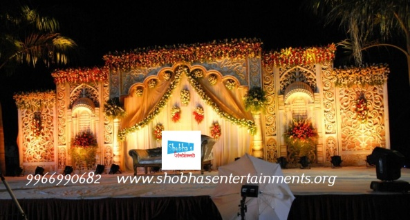 Flower decorators wedding and marriage mandap decorators and reception decorators in hyderabad reception decorations junglespirit Choice Image