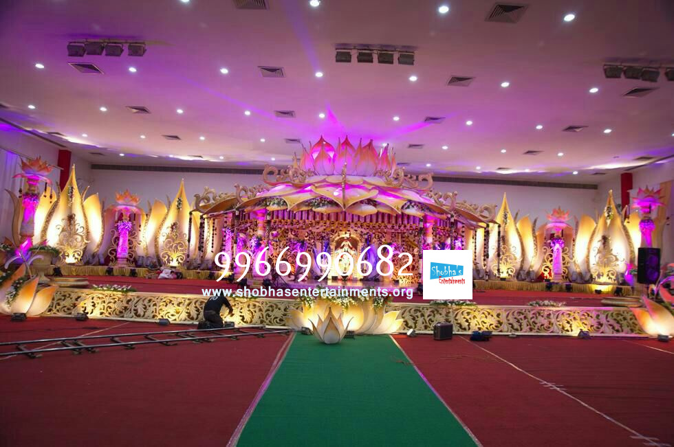 Wedding And Reception Stage Decorations In Hyderabad Shobhas