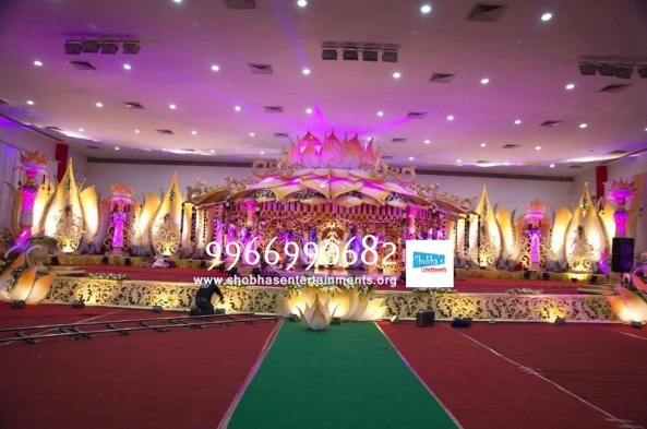 wedding flower stage decorators in hyderabad (2)