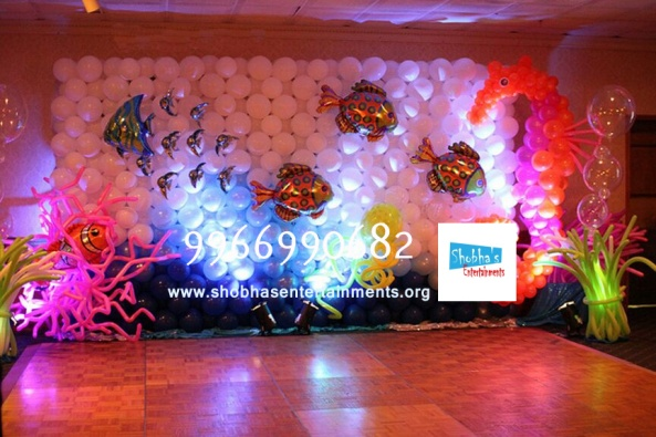birthday stage balloon decorators and theme 3d decorators in vijayawada (11)