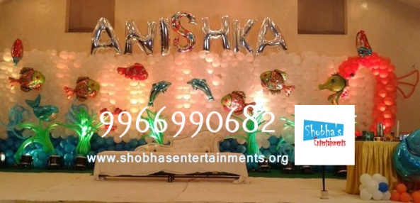birthday stage balloon decorators and theme 3d decorators in vijayawada (16)