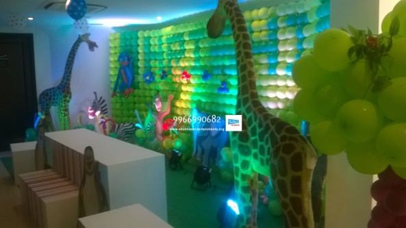 birthday stage balloon decorators and theme 3d decorators in vijayawada (18)