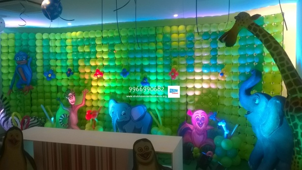 birthday stage balloon decorators and theme 3d decorators in vijayawada (19)