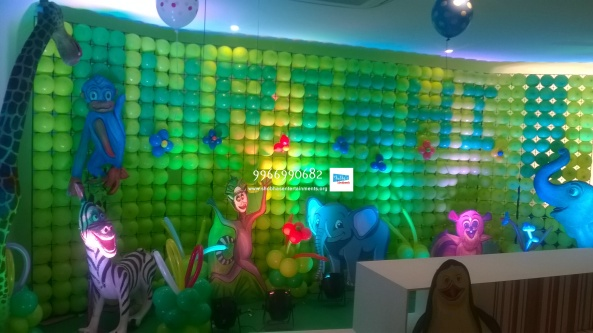 birthday stage balloon decorators and theme 3d decorators in vijayawada (21)