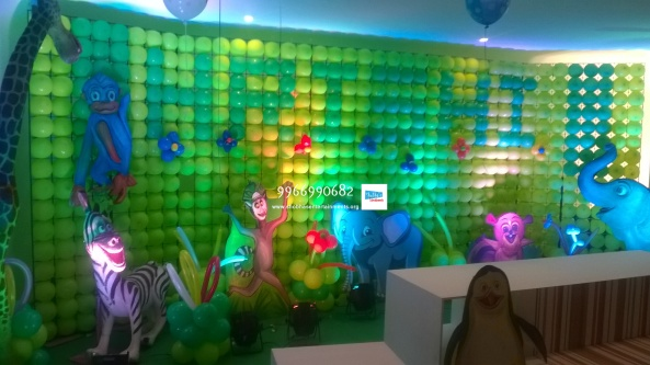 birthday stage balloon decorators and theme 3d decorators in vijayawada (22)