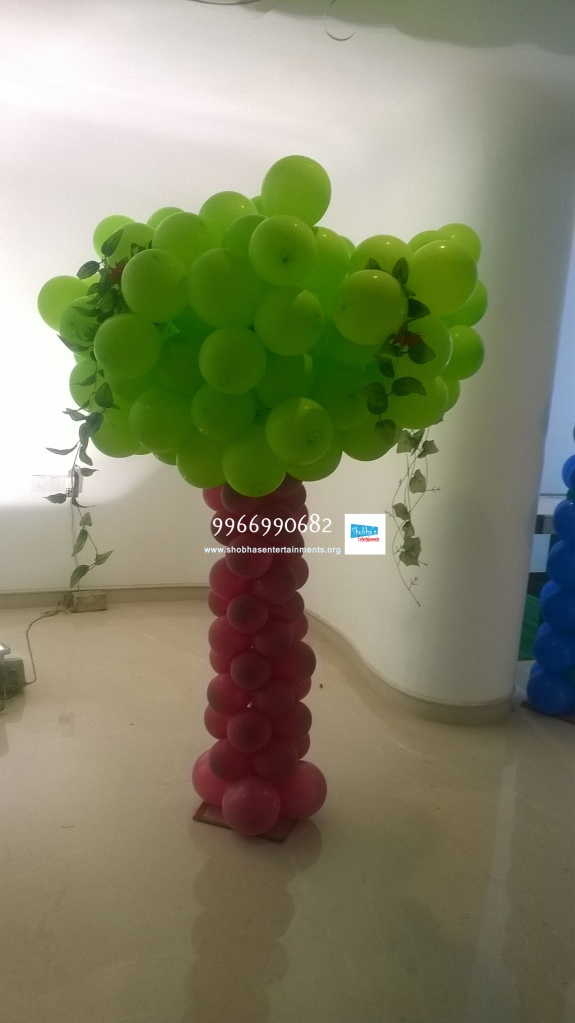 birthday stage balloon decorators and theme 3d decorators in vijayawada (24)