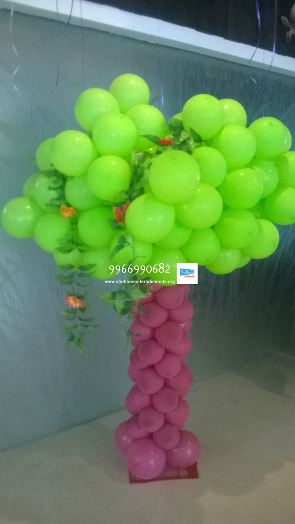 birthday stage balloon decorators and theme 3d decorators in vijayawada (25)