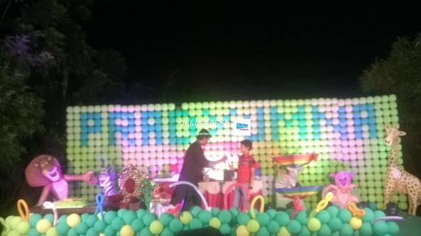 birthday stage balloon decorators and theme 3d decorators in vijayawada (27)