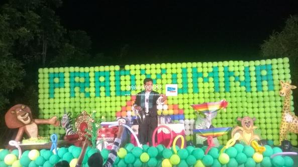 birthday stage balloon decorators and theme 3d decorators in vijayawada (28)