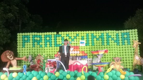 birthday stage balloon decorators and theme 3d decorators in vijayawada (29)
