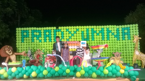 birthday stage balloon decorators and theme 3d decorators in vijayawada (30)