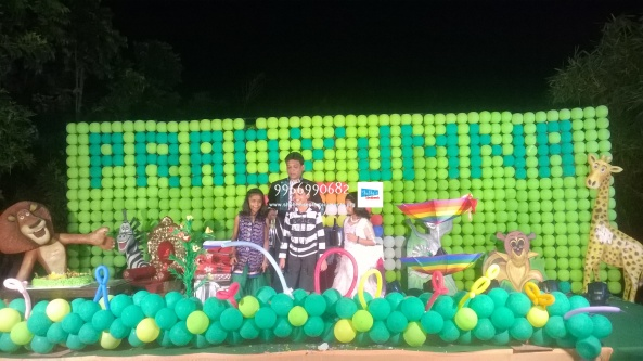 birthday stage balloon decorators and theme 3d decorators in vijayawada (31)