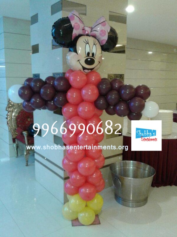 birthday stage balloon decorators and theme 3d decorators in vijayawada (6)