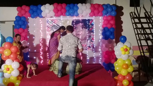Birthday party organizers in hyderabad 9966990682 for Balloon decoration in hyderabad