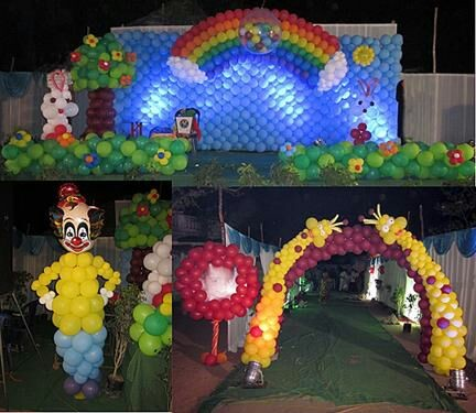 Birthday party event managers in Hyderabad and birthday theme  decorators and balloon decorators (2)