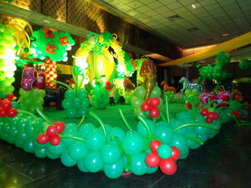 By event organisers and birthday party organisers in for Balloon decoration for birthday party in hyderabad