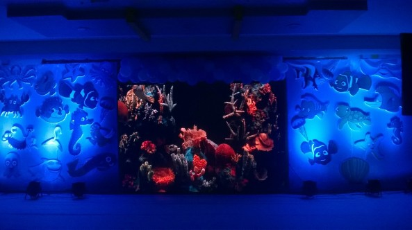 Nemo Underwater theme birthday party organizers in Warangal Hyderabad Telangana Andhra Pradesh (4)