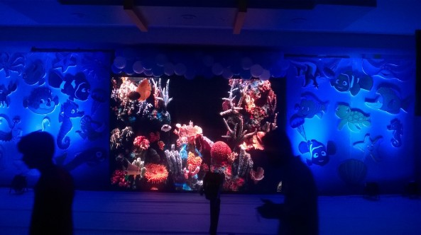 Nemo Underwater theme birthday party organizers in Warangal Hyderabad Telangana Andhra Pradesh (6)