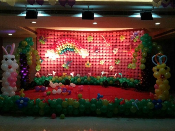 Balloon decorators and birthday decorations in Hyderabad (13)