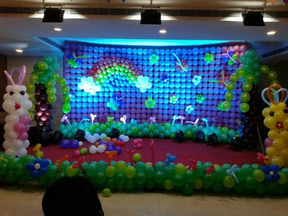 Balloon decorators and birthday decorations in Hyderabad (3)