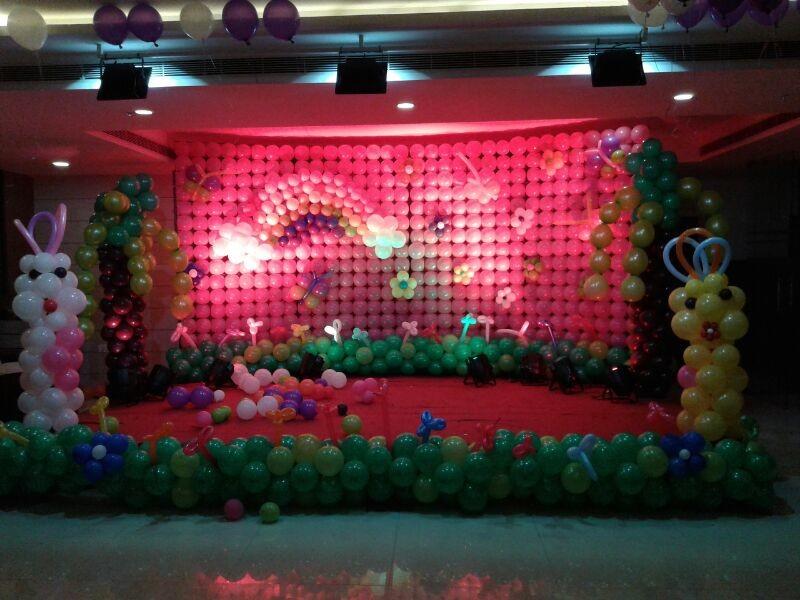 Balloon Decorators And Birthday Decorations In Hyderabad Shobha 39 S Entertainments