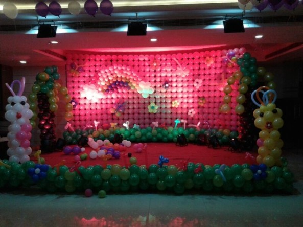 Balloon decorators and birthday decorations in Hyderabad (6)