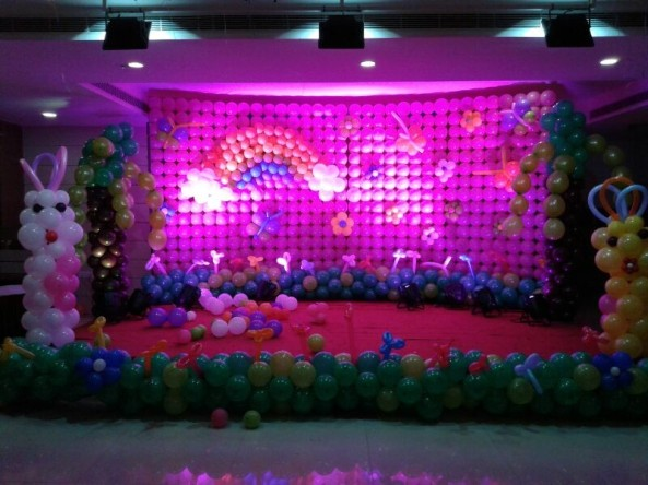 Balloon decorators and birthday decorations in Hyderabad (7)