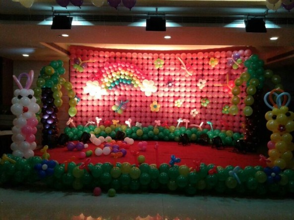 Balloon decorators and birthday decorations in Hyderabad (9)