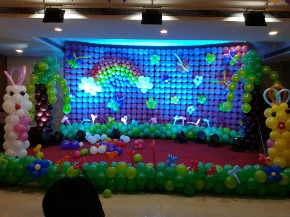 Balloon decorators and birthday decorations in Hyderabad