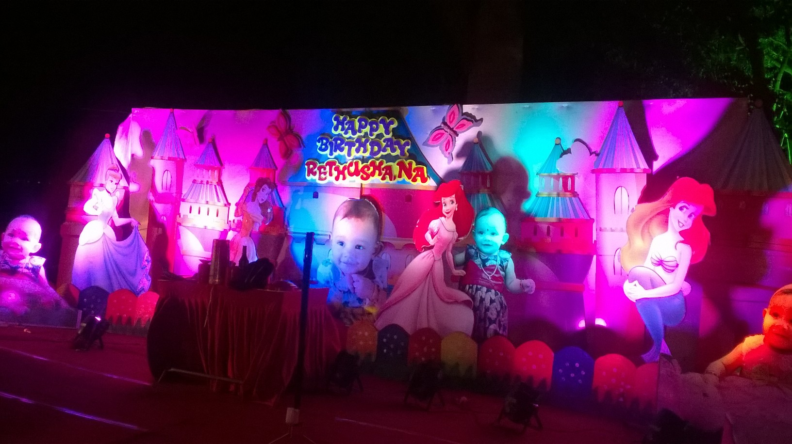 Birthday party decorations stage decorations and birthday for 1st birthday stage decoration hyderabad