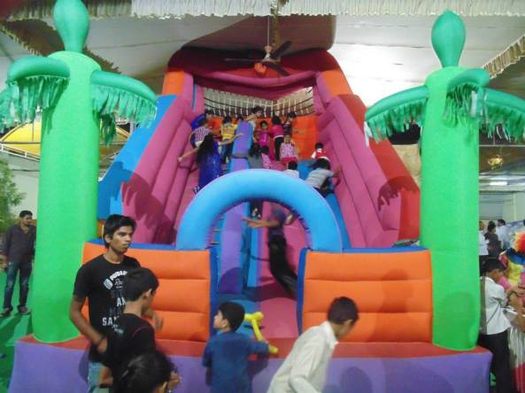 inflatable bouncies kiddy rides and entertainment activities in birthday parties.jpg