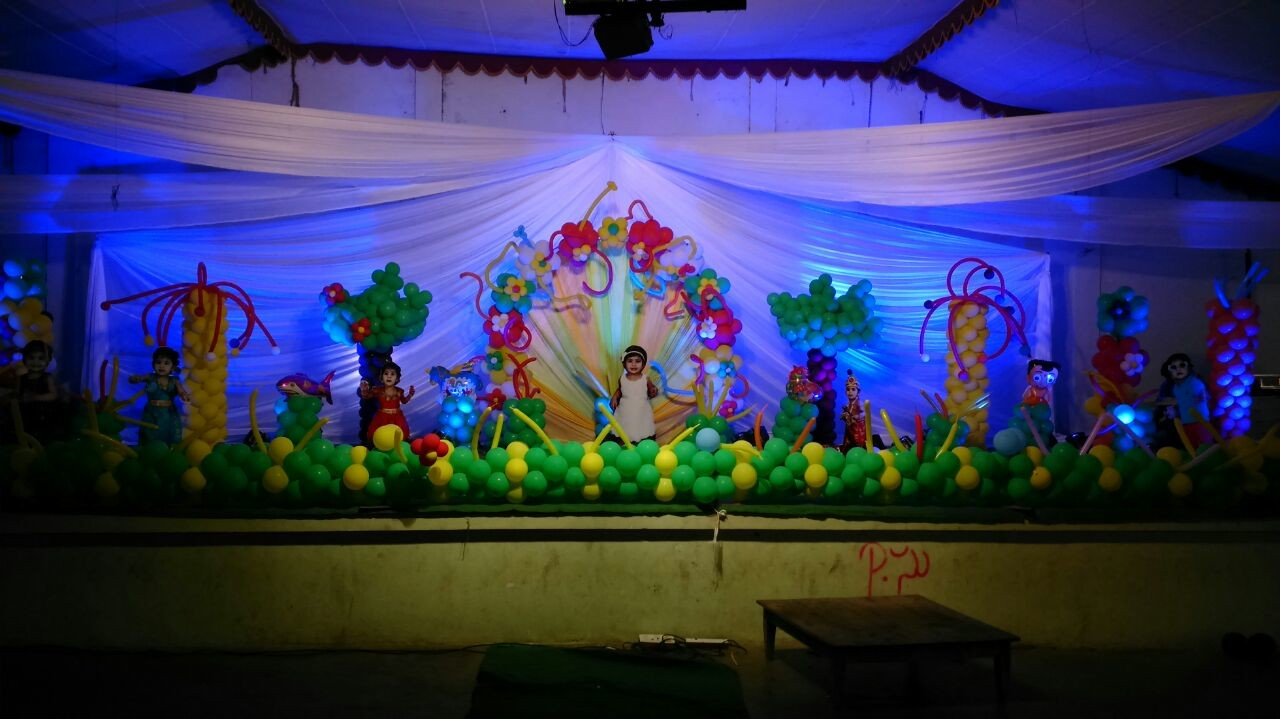 birthday party decorations and 1st birthday event organizers in