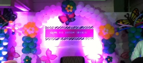 Birthday party decorators and organisers in hyderabad