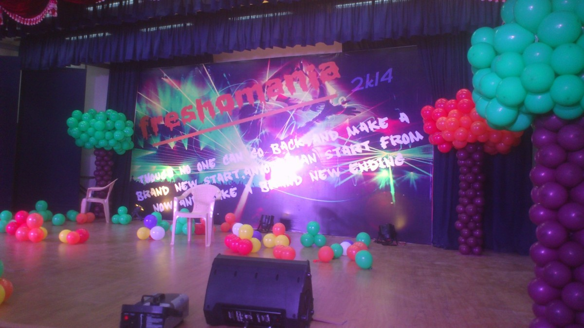 freshers and farewell party organizers and college fest organizers ... for Stage Decoration For College Farewell  585eri