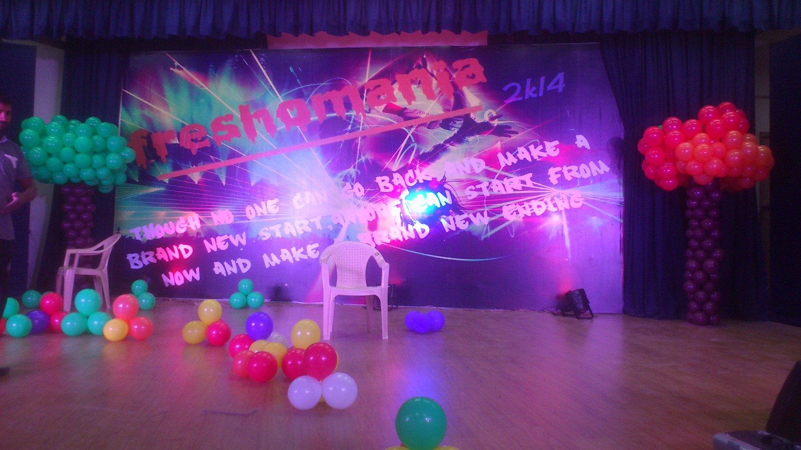 freshers and farewell party organizers and college fest organizers ... for Stage Decoration For College Farewell  35fsj