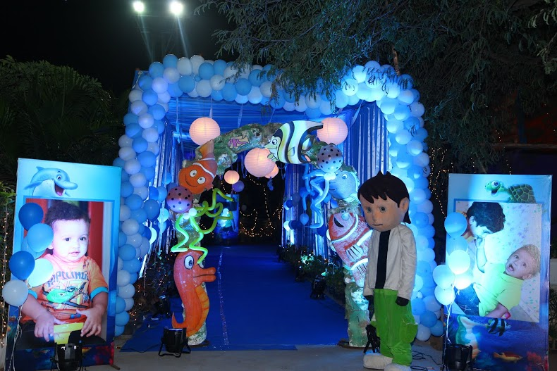 Birthday decorators and kids birthday party organizers in for 1st birthday stage decoration