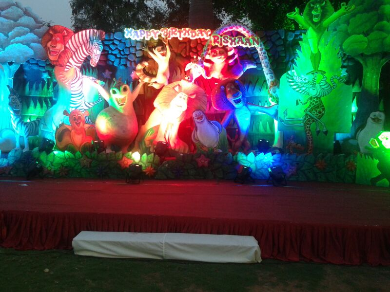 Birthday stage decorations and decorators in hyderabad for Annual function decoration