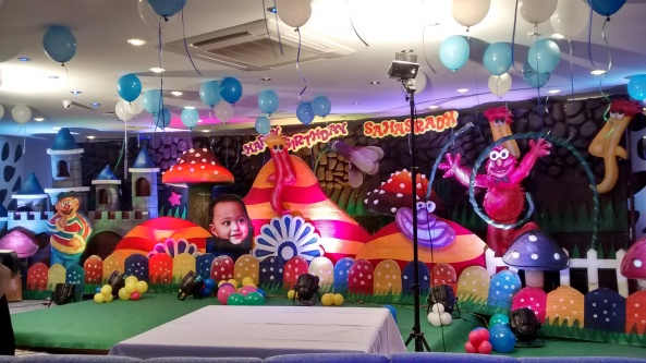 birthday party event organizers and theme balloon  decorators in hyderabad