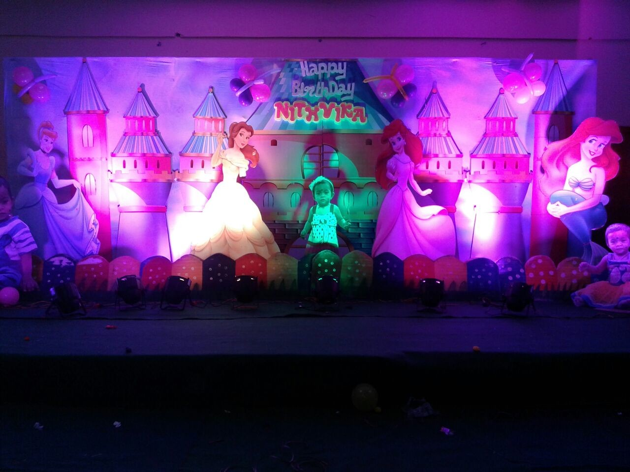 birthday stage decorations and birthday event organizers in