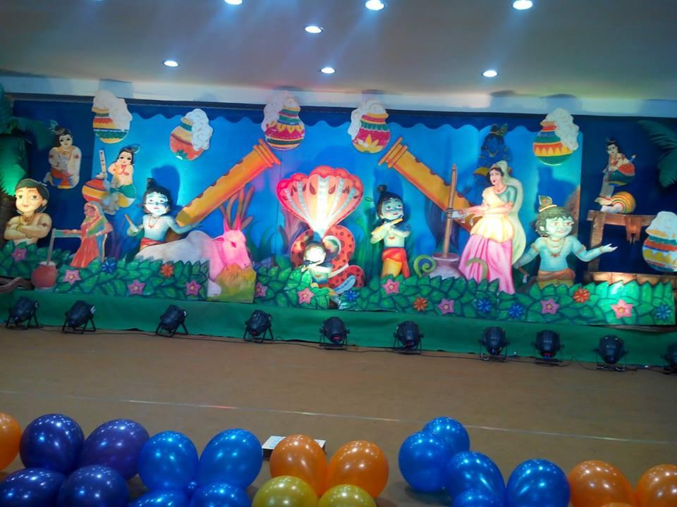 krishna theme Shobhas Entertainments