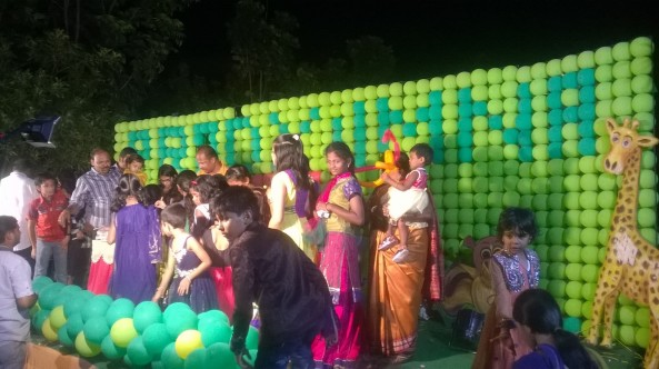 birthday party decorators and birthday event organizers in Hyderabad (13)