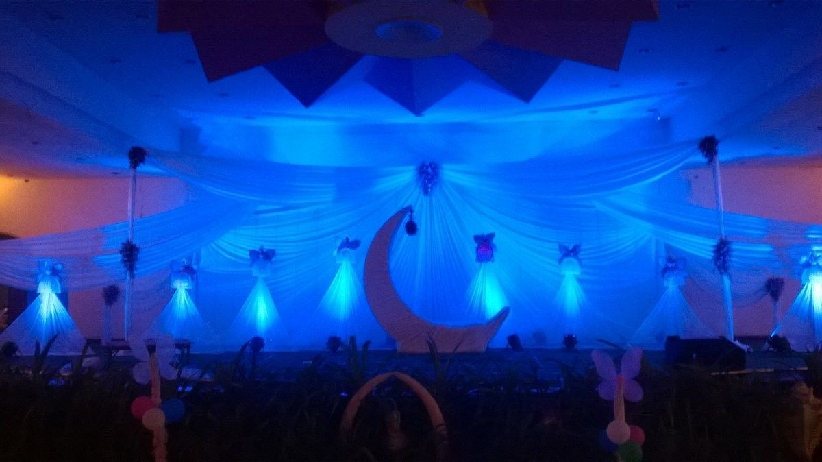 kids birthday stage decorators and birthday event managers in