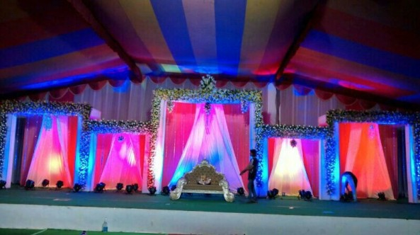 flower decorators, wedding and marriage mandap decorators and reception sangeet stage decorators in hyderabad (3)