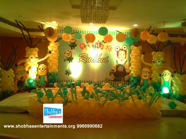 1st birthday balloon decorators in hyderabad (1)