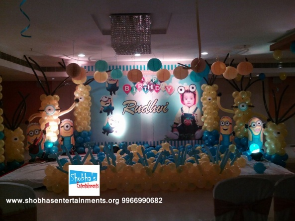 1st birthday balloon decorators in hyderabad (3)